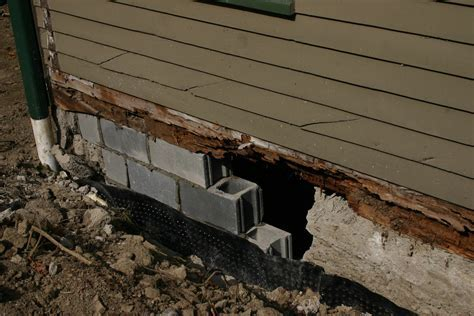 Living in Dryden: Foundation Repair, Part III: Masonry