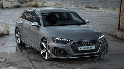 Audi Rs 4 Facelift 2019 Motor Ausstattung by 2019 Audi A4 B9 Restyling Cochespias Net