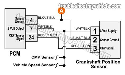 Crankshaft Sensor Wire Diagram For 2001 Honda Civic Dx by 1993 1995 Crank Sensor Wiring Diagram Jeep 4 0l