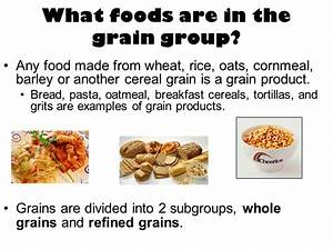 Grain Food Group - Recipes Food