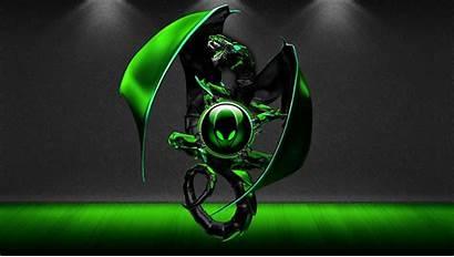 Alienware Alien 4k Wallpapers Windows Verde Pantalla