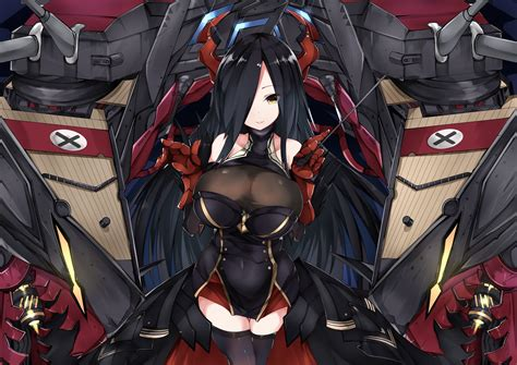 friedrich der grosse azur lane drawn  mutou