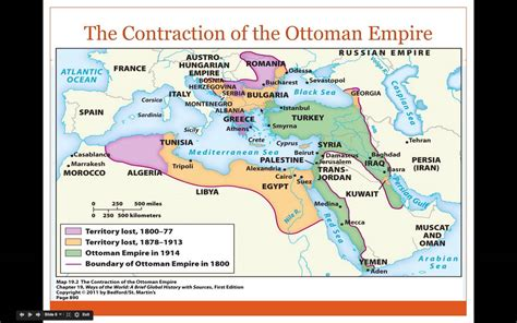 History Of The Ottoman Empire by Ap World History Period 5 Decline Of The Ottoman Empire