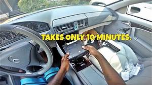 How To Install An Aftermarket Car Radio  2001 Mercedes