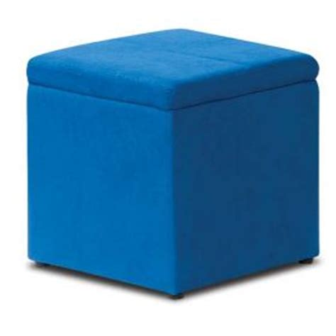 blue storage ottoman best blue storage ottoman tool box