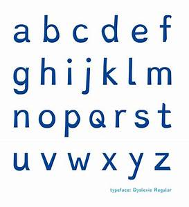 christian boers dyslexie is a typeface for people with With dyslexia alphabet letters