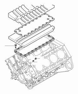 Bmw 740ilp Cap With Seal  Engine  Block