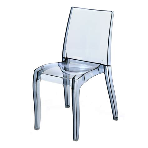 chaise design transparente chaise polycarbonate transparente