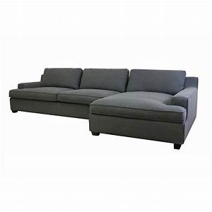 Kaspar slate gray fabric modern sectional sofa see white for Kaspar modern sectional sofa