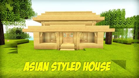 build   asian styled house  minecraft