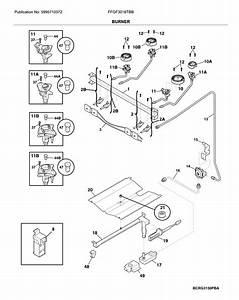 Frigidaire Ffgf3016tbb Gas Range Parts