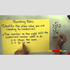 Math Video On The Rules For Rounding Numbers, 3rd & 4th Grade Youtube