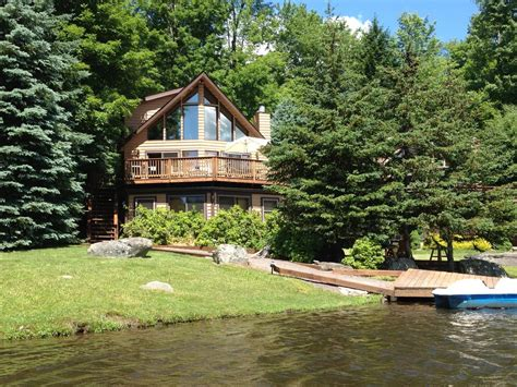 pa cabin rentals luxury lakefront pocono retreat lake ariel vrbo