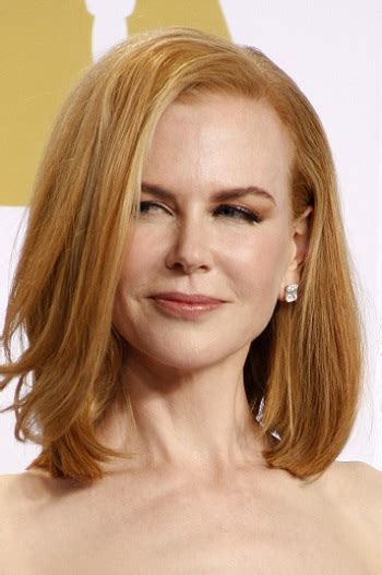Hairstyles: Nicole Kidman ? Medium Straight Hairstyle