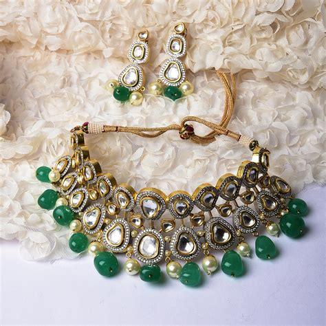 12 gorgeous artificial bridal jewellery pieces to shop online 50k