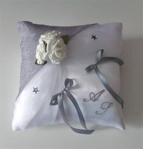 coussin alliance mariage personnalise coussin mariage 255