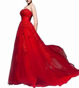 Top 25 best red wedding dresses heavycom for Wedding dress red