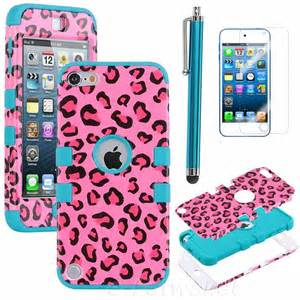 Pink and Blue iPod 5 Case