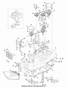 Mtd 13ap61gh897  2009  Parts Diagram For Mower Deck 46 Inch