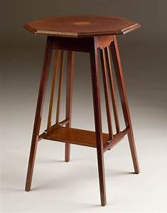 Octagonal, Antique, Occasional, Table