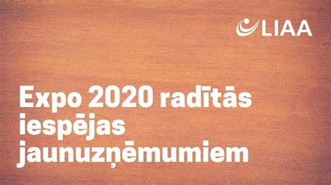 Expo 2020 radītās iespējas jaunuzņēmumiem | vebinārs | 22.02.2021. - YouTube