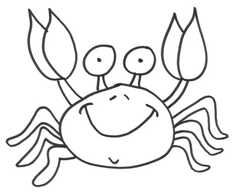 crab colors crab animal coloring pages ideas