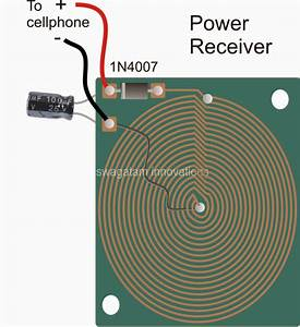 Wireless Cellphone Charger Circuit