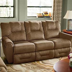 Easton la z timer full reclining sofa for Easton leather sectional sofa