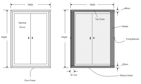screen door sizes pleated fly screens for doors central opening streme