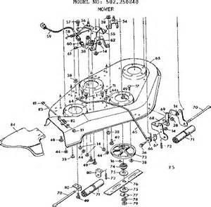 Sears Craftsman Lawn Tractor Parts Diagram