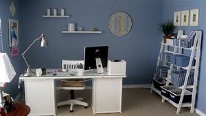 Office adjustable home decor ideas with blue