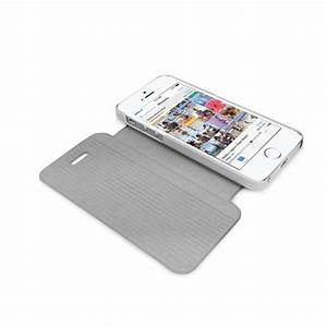 Orzly Wallet & Stand Case for iPhone 5S - Silver ...