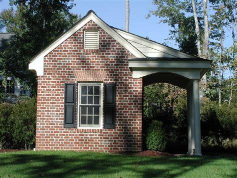 potting shed design brick potting shed