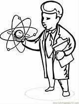 Scientist Coloring Colorir Desenhos Cientista Cientistas Physics Imprimir Mad Cartoon Louco Colouring Printable Imagens Maluco Coloringpages101 Matematico sketch template