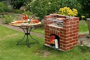 Selbstgebauter grill im garten diy academy for Garten planen mit balkon grill weber
