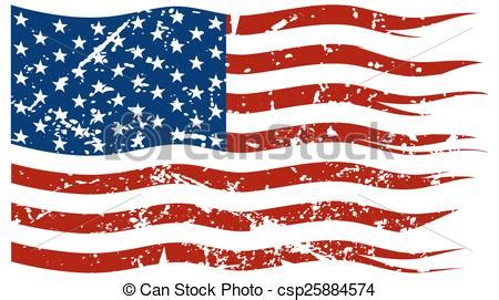 worn american flag clipart clipground