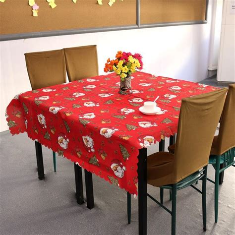 christmas tablecloth ireland 150x180cm square printed