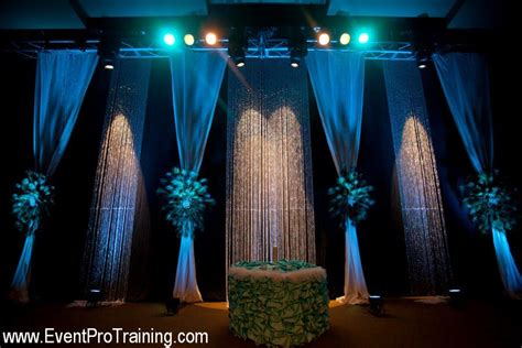Draping Ideas For Wedding Ceremony Ostrich And Peacock