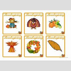 Thanksgiving  Flash Cards Worksheet  Free Esl Printable Worksheets Made By Teachers