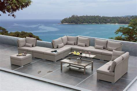 comfortable sofa sets sedona modular sofa set patio furniture outdoor