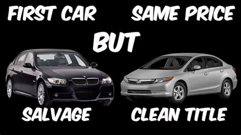 What Is A Rebuilt Car by Is A Salvage Or Rebuilt Car A Smart Decision For Your