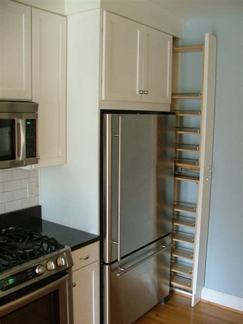 Refrigerator Spice Rack by Collamore Built Residential Design Construction