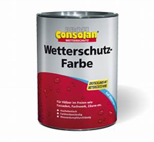 Farbe Kiefer Deckend : consolan wetterschutz farbe ~ Whattoseeinmadrid.com Haus und Dekorationen