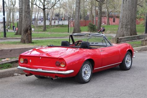 1968 Fiat Spider For Sale by 1968 Fiat Dino Spider Stock 21771 For Sale Near Astoria