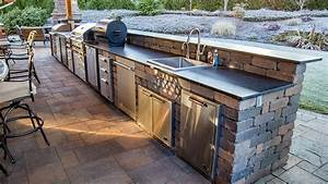 Data Entry Design Patterns Custom Chateau Wall Outdoor Kitchen