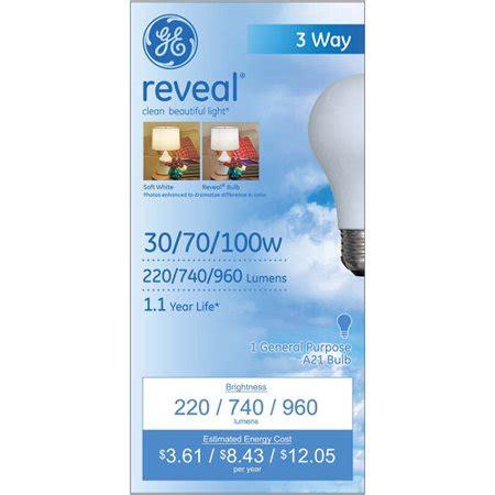 3 way light bulb walmart ge reveal a21 3 way light bulb walmart