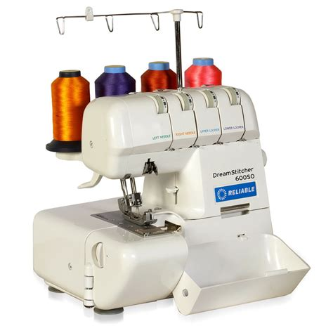 serger sewing reliable dreamstitcher 600so portable 2 3 4 thread overlock machine