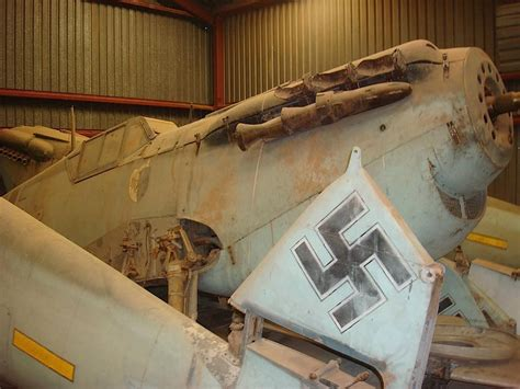 Found In Barn by Barn Find Messerschmitt Bf 109