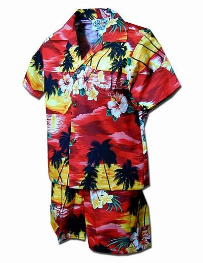 Clothes Hawaiian Toddler Islands Sunset Hawaii Toddlers