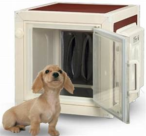 air conditioned dog house prevents canine heat stroke With solar powered air conditioned dog house